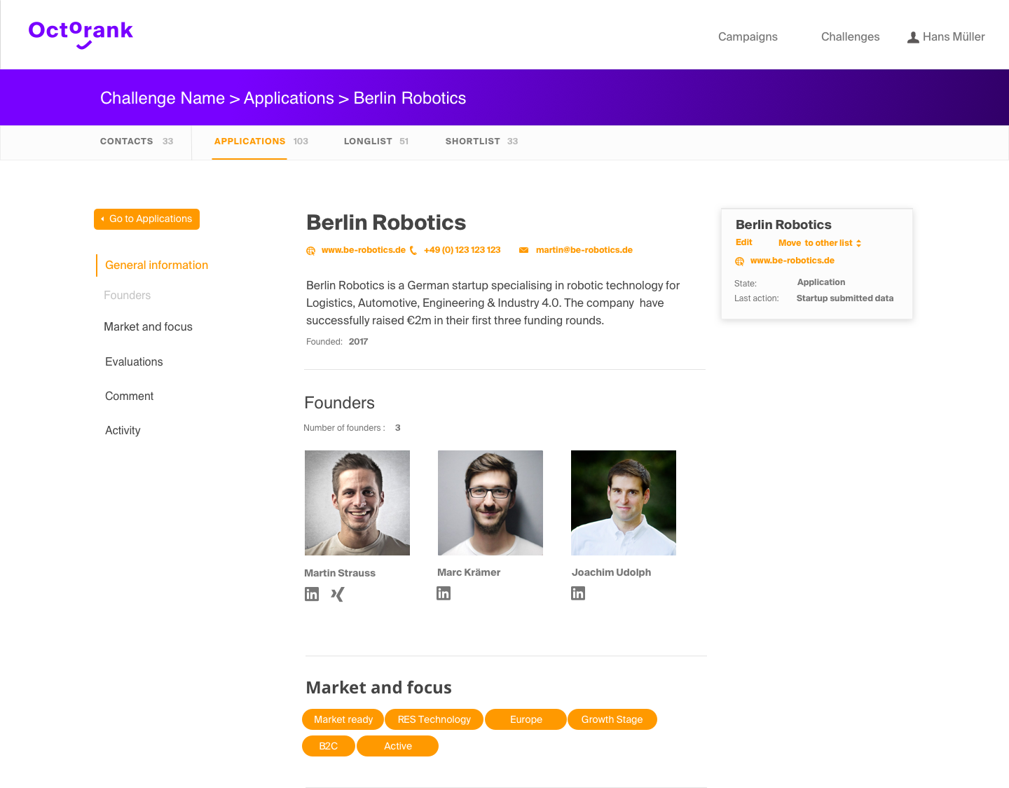 Maintain Startup Profiles screenshot
