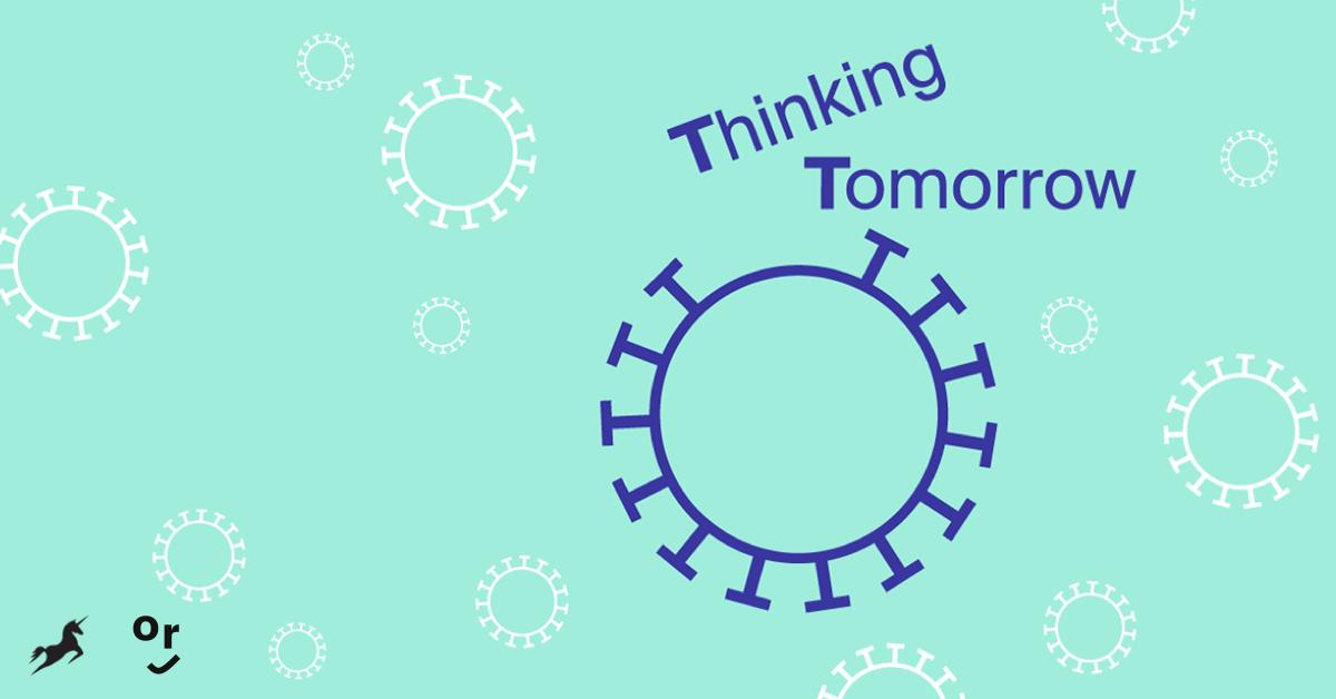 Thinking Tomorrow Key Visual